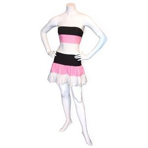 Noelle Colorblock Tube Dress